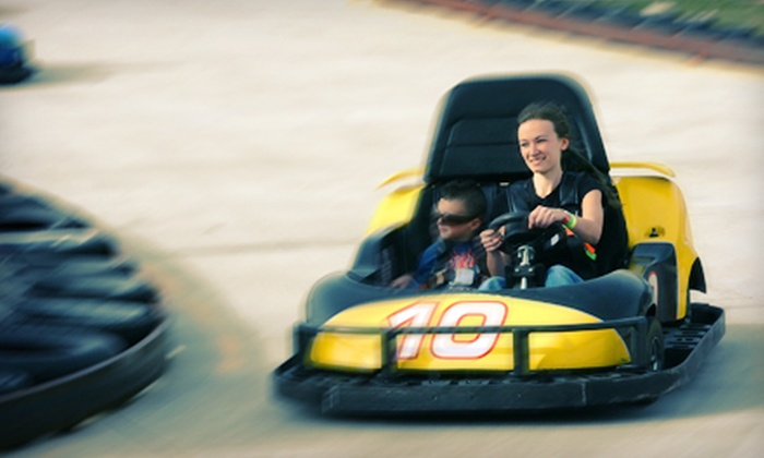 The Fun Station - Tallahassee: $22 for $40 Worth of Go-Karts, Laser Tag, and Mini Golf at The Fun Station