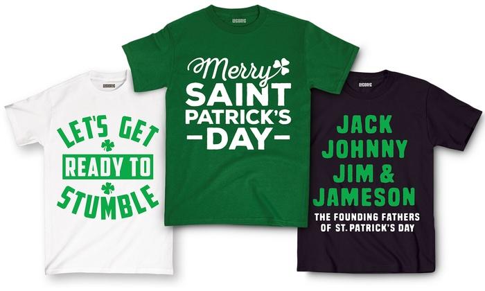 2433c38fe Men's St. Patrick's Day Tees | Groupon Goods