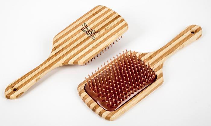 Spazzola in bambù con Argan