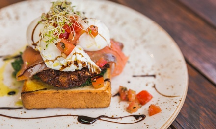 All Day Breakfast with Coffee for Two ($29) or Four People ($55) at 18G Specialty Coffee and Eatery (Up to $87.20 Value)