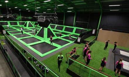 TwoHour Trampoline Session $125, 20 $239 or 30 People $299 at Flip Out, Penrith Up to $540 Value
