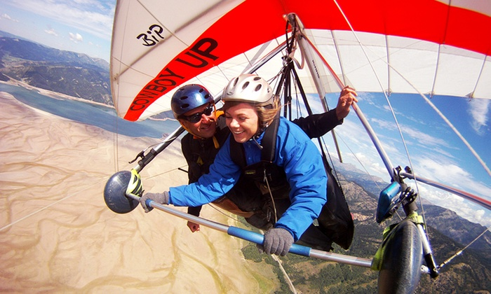 Cowboy Up Hang Gliding - Houston : Discovery Sunset Flight for One or Two at Cowboy Up Hang Gliding (50% Off)