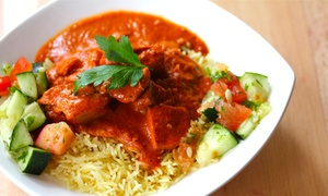 Boston Indian Kitchen: Fast-Casual Indian Food at Boston Indian Kitchen (40%Off). Two Options Available.