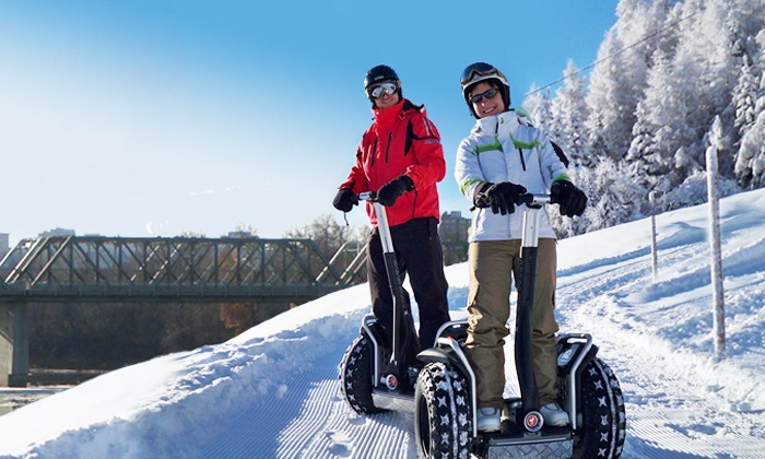 River Valley Adventure Co. - Louise McKinney Park: One-Hour Winter Segway Trek for One or Two from River Valley Adventure Co. (Up to 34% Off)