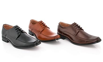 Adolfo Aldo-4 Men's Faux Leather Lace Up Dress Shoes