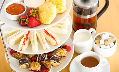image for Lakeside Afternoon Tea for Two or Four at Stanwick Lakes (Up to 46% Off)