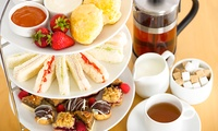 Afternoon Tea for Two with Free-flowing Tea or Coffee at Beachside Coffee Shop (33% Off)