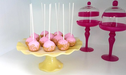 One Dozen Gourmet Cake Pops or One or Two Dozen Gourmet Cupcakes at My Cake Gallery (Up to 50% Off)