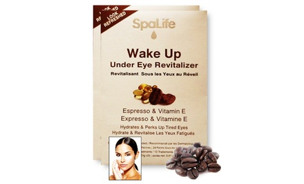 2-Pack My Spa Life Wake Up Under Eye Revitalizer Espresso Treatment