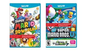 Mario Games For Wii U (authentic Nintendo Refurbished)