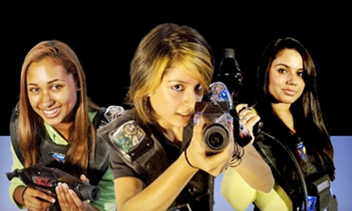 Ultrazone Laser Tag - Madison: $15 for Two Games of Laser Tag for Two at Ultrazone Laser Tag ($30 Value)
