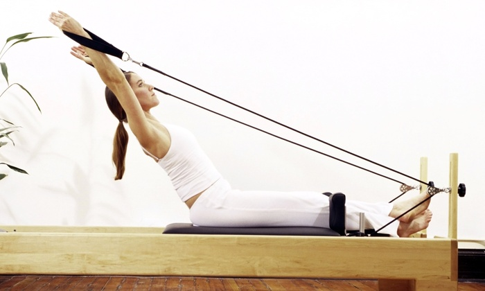 centerAlign Pilates and Body Rolling - Grogan's Mill: Three or Six Private Pilates Sessions at centerAlign Pilates and Body Rolling (Up to 74% Off)