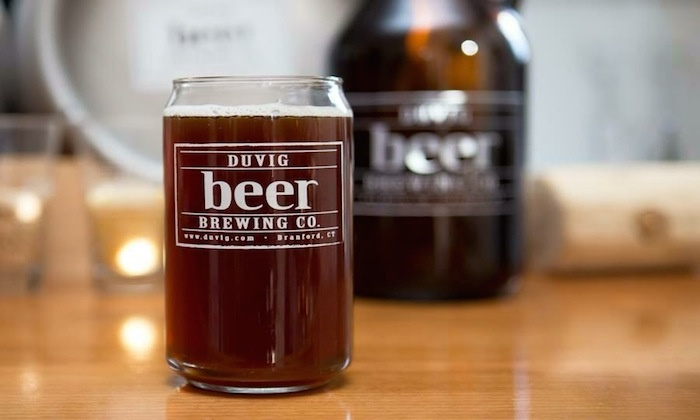 DuVig Brewing Company - Branford: Beer Tasting and 32-Ounce Empty Growlers for Two or Four at DuVig Brewing Company (Up to 44% Off)