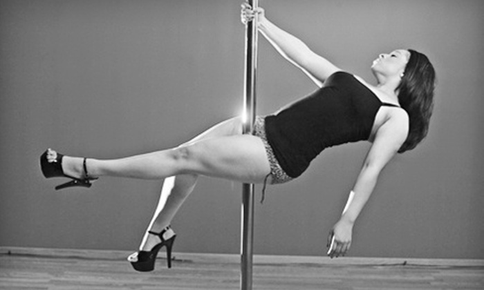 Vixen Fitness - Multiple Locations: $29 for Four Pole-Dancing Classes at Vixen Fitness ($90 Value)