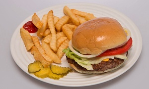 Kings Hot Dogs: Hot Dogs, Burgers, and Sandwiches for Two or Four People at Kings Hot Dogs (40% Off)