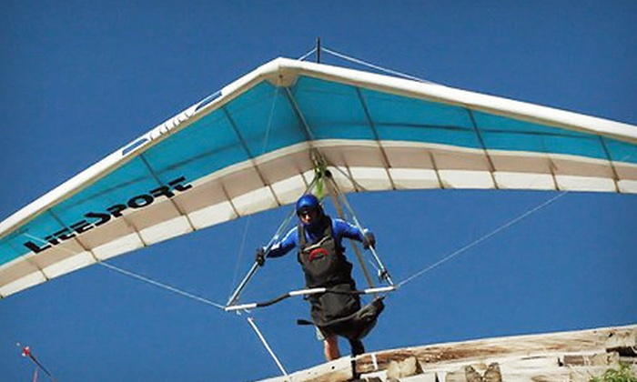 High Desert Hang Gliding - Albuquerque: Hang-Gliding Lesson for One or Two from High Desert Hang Gliding (Up to 51% Off)