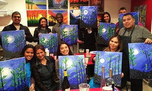 Paint Drink Party and Fun: Two-Hour BYOB Painting Class for One or Two at Paint Drink Party and Fun (Up to 36% Off)