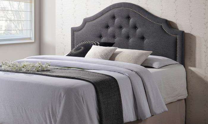 Cora Upholstered Headboard | Groupon Goods