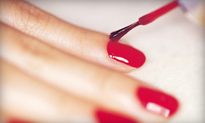 Lisa Suarez at Blake Rose Salon & Spa - Grandview Heights: One or Three Gel Manicures from Lisa Suarez at Blake Rose Salon & Spa (Up to 71% Off)
