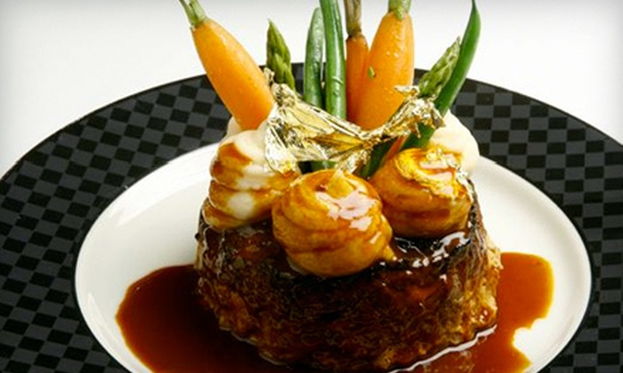David Burke at Bloomingdale's - Upper East Side: $99 for Mother's Day Four-Course Take-Home Meal Package for Five from David Burke at Bloomingdale's ($360 Value)