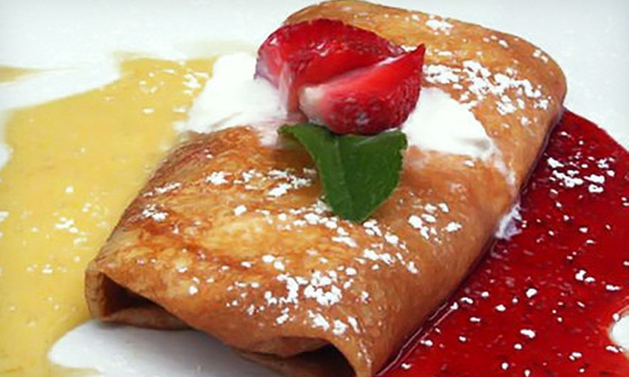 Maison - Midtown,Theatre District,Hell's Kitchen: French Brunch with 90 Minutes of Unlimited Beverages for Two or Four at Maison (Up to 73% Off)