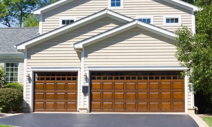 garage door tune upGarage Door TuneUp  Welborn Garage Doors  Groupon