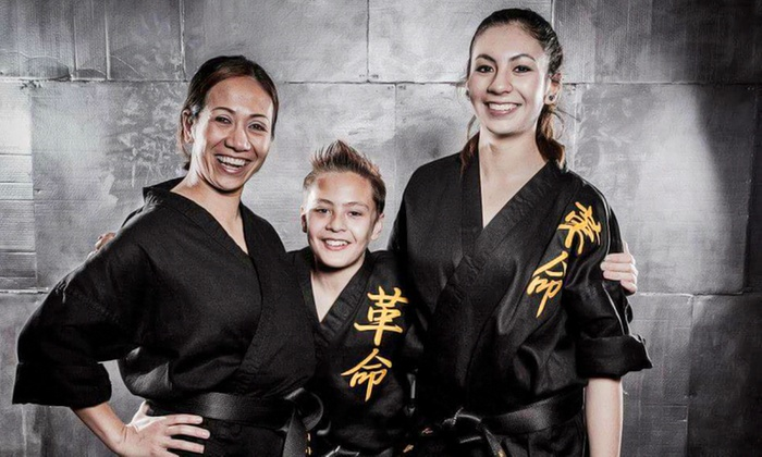 The Refinery Martial Arts - Governors Ranch: Classes and Uniform with Option for Test and Belt at The Refinery Martial Arts (Up to 80% Off)