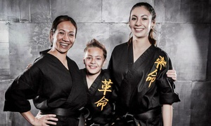 The Refinery Martial Arts: Classes and Uniform with Option for Test and Belt at The Refinery Martial Arts (Up to 80% Off)