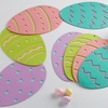 Set of Four Easter Eggs Placemats/Table Runner