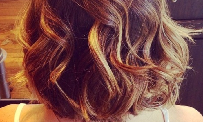 Think Pretty - Carytown: Full highlights, Gloss, Haircut, and Blow Dry Finish from Think Pretty (42% Off)