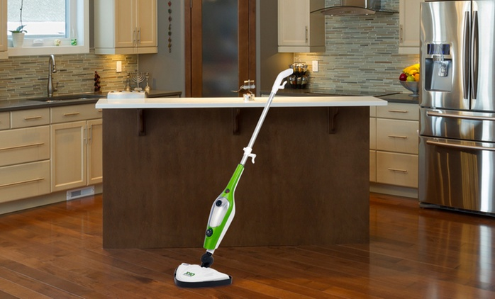 10-in-1 Steam Mop With Two or Five Pads from €39.99 With Free Delivery (Up to 61% Off)