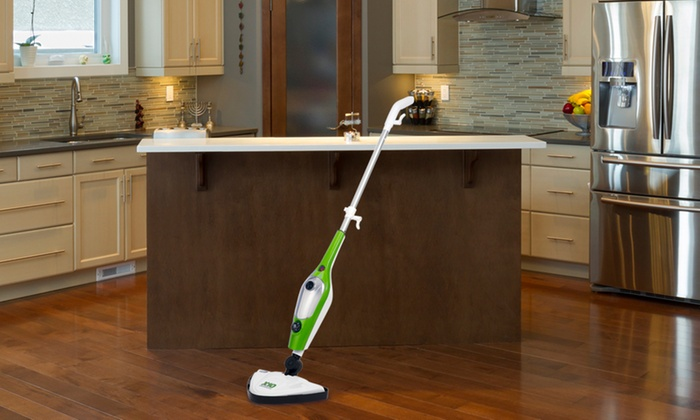 Groupon Goods Global GmbH: 10-in-1 Steam Mop With Two or Five Pads from £29.99 (Up to 68% Off)