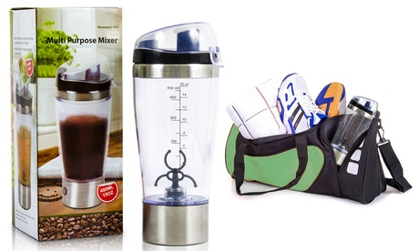 Shaker elettrico portatile per preparare drink, salse e frullati