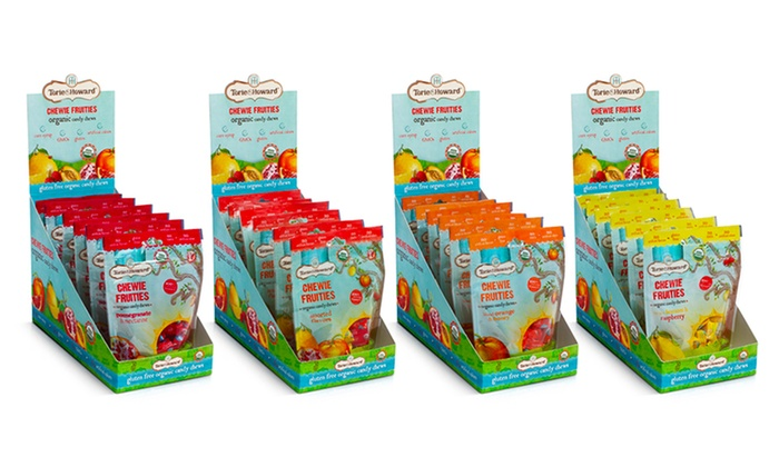 Torie & Howard Blood Orange & Honey Organic Hard Candy, 2 oz, (Pack