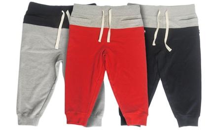 Men's Fleece Jogger Shorts