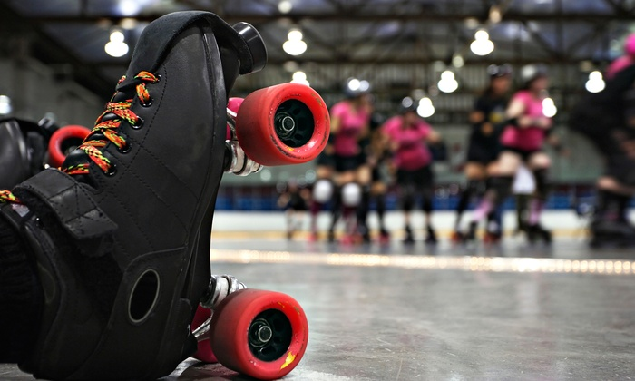 Black River Rollerz vs. Broome County Rollers - Watertown Municipal Arena: $12 for Two Tickets to Black River Rollerz Roller-Derby Bout vs. Broome County Rollers on Saturday, August 9 ($20 Value)
