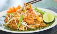 Thais driegangen keuzemenu met aperitiefhapjes voor 2 of 4 personen bij Bangkok City vanaf €34,99