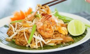 Bangkok City: Thais driegangen keuzemenu met aperitiefhapje voor 2 of 4 personen vanaf €34,99 bij Bangkok City!
