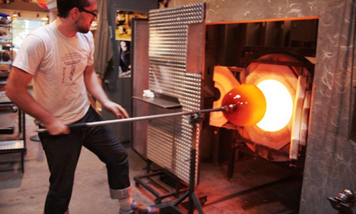 Seattle Glassblowing Studio & Gallery - Belltown: Glass-Blowing Workshop for One or Two at Seattle Glassblowing Studio & Gallery (Up to 61% Off)