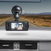 Coby Exterior and Interior Dual-Camera 1080p Full-HD Dash Cam