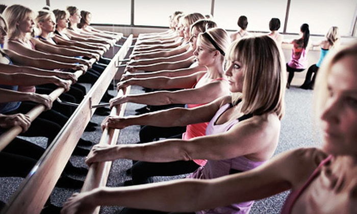 Pure Barre - Green Oak: $35 for Five Ballet Barre Classes at Pure Barre ($90 Value)