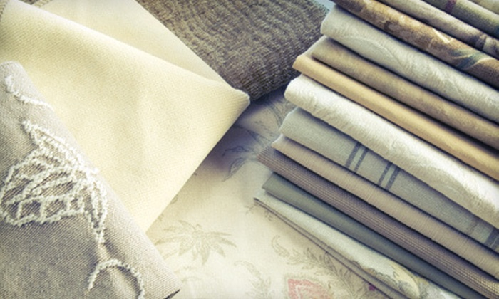 Decorators Fabric Outlet - Multiple Locations: Fabric, Upholstery, and Cushions at Decorators Fabric Outlet (Up to 58% Off). Two Options Available.