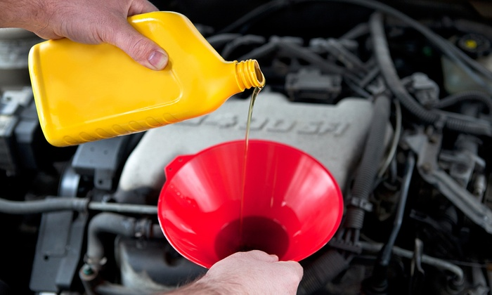 LubriMan Corp - Glen Cove: One or Three Onsite Oil Changes from LubriMan Corp. (Up to 57% Off)