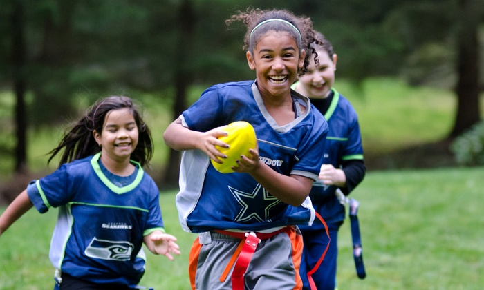 Pick 6 Sports - Sunset Park: Girls' Flag Football Registration for One or Two at Pick 6 Sports (43% Off)