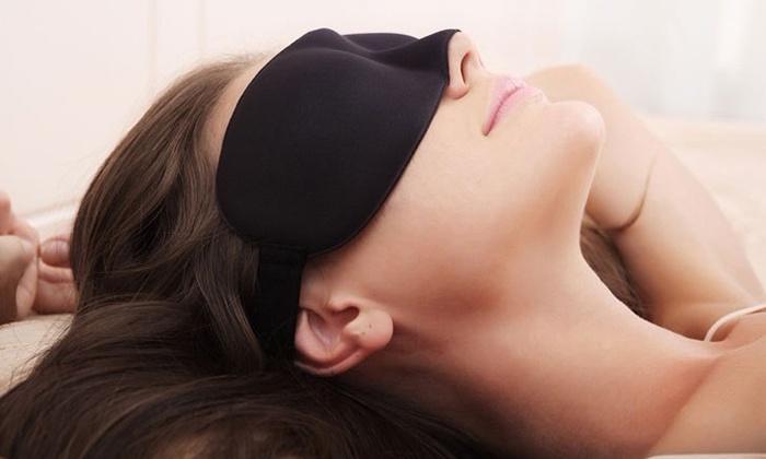 masque de nuit pour les yeux groupon. Black Bedroom Furniture Sets. Home Design Ideas