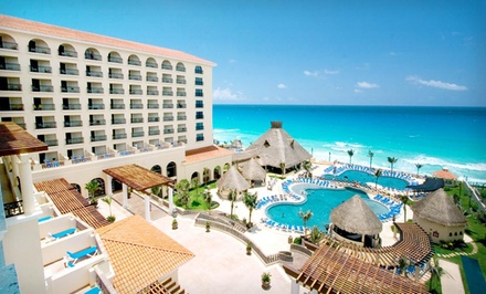 Groupon Deal: 3-, 4-, or 5-Night All-Inclusive Stay for Two in a Deluxe Room at GR Solaris Cancun in Mexico. Includes Taxes and Fees.
