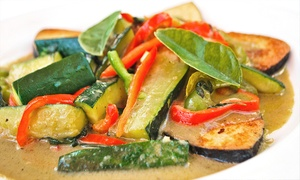 Charm Vegan: Vegan Cuisine or One Half-Tray of Catering at Charm Vegan (Up to 44% Off)