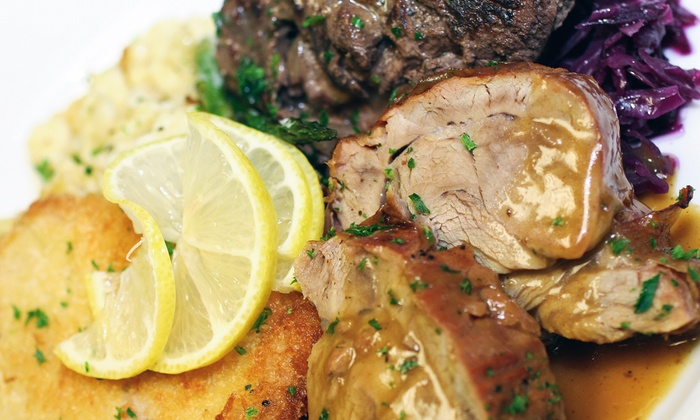 Edelweiss Restaurant - Hill Valley: $20 for German Cuisine and a German-American Klub Membership at Edelweiss Restaurant ($55 Value)