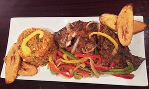 Dish Out Restaurant: West African, Caribbean, and American Food for Lunch or Dinner at Dish Out Restaurant (Up to 47% Off)