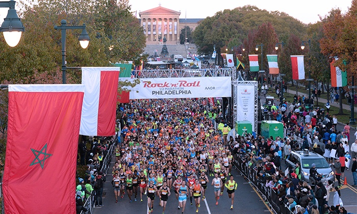 Rock 'n' Roll Marathon Series - Pennsylvania Convention Center: Exclusive Presale: Rock 'n' Roll Philadelphia Half Marathon on September 18, 2016 and 5K on September 17, 2016
